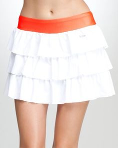 Ruffled Tennis Skirt - BEBE SPORT $34.99