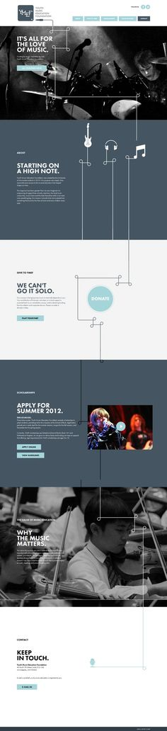Best About Pages – Showcasing the best of the best about page examples on the web » Youth Music Education Foundation
