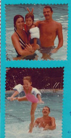 1983 - Another summer of fun at the Elks Club.  Rudy was the biggest kid of all.