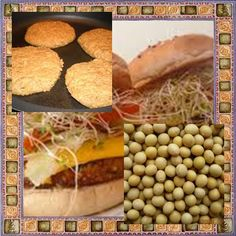 Soybean fishcakes,Rich in potassium and a good source of magnesium, phosphorus, iron, calcium, manganese, folate and contains some vitamins like the vitamin E and B6.