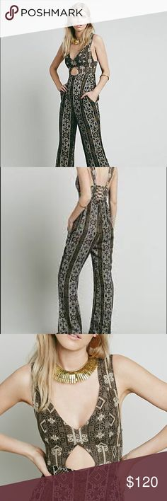 Free people till tomorrow jumpsuit Gorgeous jumpsuit by free people new without tags Free People Pants Jumpsuits & Rompers