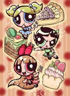 Hairstyle PPG comic 1 by Yang-Mei on DeviantArt Power Puff Girls Z, Power Girl, Cartoon Wallpaper Iphone, Girl Wallpaper, Blossom Bubbles And Buttercup, Powerpuff Girls Costume, Powerpuff Girls Wallpaper, Super Nana, Ppg And Rrb