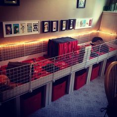 Shirley: This size, small one section second floor, bins underneath contain pig stuff and tv stuff, mount tv on wall in corner Diy Guinea Pig Cage, Guinea Pig Hutch, Guinea Pig House, Baby Guinea Pigs, Guinea Pig Care, Cavy Cage, Pet Cage, Bunny Cages, Rabbit Cages