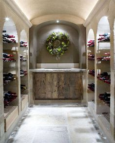 A Private Cellar in Flanders For more wine at home inspiration visit www.crystalpalate.com