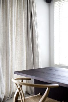 Natural Curtains, Thick Curtains, Lined Curtains, Curtains With Blinds, Grey Linen Curtains, Lounge Curtains, Linen Bedroom, Bed Linen, Room Divider Curtain
