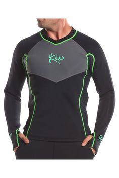 This new sleek design allows you to be fashion forward while still reaping the benefits of our original sauna shirt. Take on your workouts in this stylish, innovative sauna shirt. Made completely from our improved 1.7 mm neoprene material featuring an outer layer of lycra with eye catching green stitch detail. The shirt also features honeycomb mesh on the sides along with a zipper for more breathability. The new & improved sauna shirt is essential enhance calorie burning.