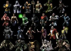 Injustice: Gods Among Us characters.