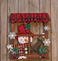 Christmas Wood Crafts, Country Christmas Decorations, Christmas Signs Wood, Christmas Frames, Rustic Christmas, Xmas Decorations, Christmas Art, Christmas Projects, Holiday Crafts
