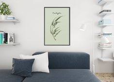 Mother's Day Framed Canvas Art Picture Print With Beautiful Handwritten Message and Hand Painted Yellow Flower Leaf Wall Art, Leaf Art, Personalized Photo Gifts, Kitchen Wall Art, Be Kind To Yourself, Artwork Prints, Decorating Your Home, Designer, Giclee Print