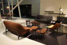 Ligne Roset, new collection at IMM Cologne and Maison & Objet Paris, 2014, Piani Tables Andreas Kowalewski