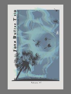 Erin O'Connor's John Butler Trio poster