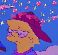 Lisa Simpson is a mood Simpson Wallpaper Iphone, Cartoon Wallpaper Iphone, Mood Wallpaper, Aesthetic Iphone Wallpaper, Aesthetic Wallpapers, Aesthetic Gif, Aesthetic Green, Aesthetic Painting, Collage Des Photos