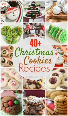 40+ Christmas Cookies Recipes - perfect for cookie exchange parties!