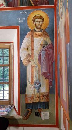Church Interior, Byzantine Icons, Religious Icons, Orthodox Icons, Historical Maps, Saints, Painting, Montana, Motivational