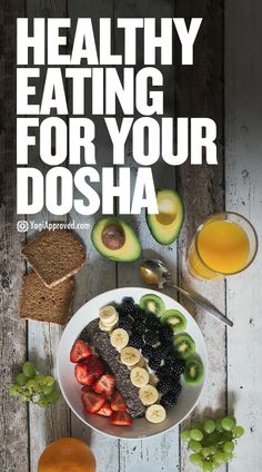 The ancient Ayurvedic healthy eating method of eating the right foods for your dosha has helped people over millennia. This guide will get you started. Ayurvedic Diet, Ayurvedic Recipes, Ayurvedic Healing, Diet Snacks, Clean Eating Snacks, Healthy Snacks, Health And Nutrition, Health And Wellness, Pitta Dosha