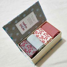 Ladies Bamboo Festive Socks Gift Box