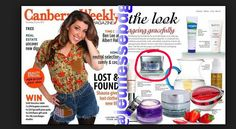 CANBERRA WEEKLY again mentioning LUMINESCE Skin Care in their magazine!! kkelly@bellaliant.net