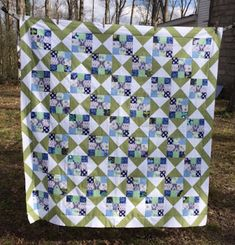 Confessions of a Fabric Addict: Nifty Nines Quilt-Along - Are You Ready For Another?