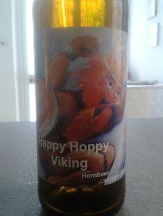 Happy Hoppy Viking, Hornbeer, Imperial Ipa, Denmark