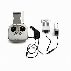 Drone Fans Phantom 3 4 Smart Parallel Car Charger Intelligent Battery Carger for DJI Phantom34 Battery and Remote Controller -- Learn more by visiting the image link.Note:It is affiliate link to Amazon. #f4f