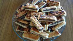 Sfoglie con wafer cacao e nocciola e nutella