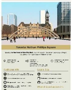 Ahhh... so romantic... Night skating @Toronto City Hall just named as #2 in top 10 outdoors rinks in the world!  See infographic: #1 is my home town Ottawa's Rideau Canal (longest rink in world too). Others include Chicago  Moscow and Vienna.