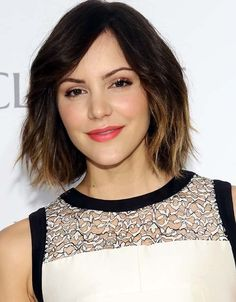 Love this hair cut and color