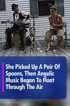 """If this doesn't make you laugh out loud, you've missed a good opportunity. Abby Roach the Spoon Lady plays her spoons better than most people play regular instruments. Just watch her amazing cover of """"Angels in Heaven"""" and prepared to be blown away. Country Music Videos, Country Music Singers, Country Concerts, Blue Song, Mountain Music, Music Flyer, Music Clips, Angels In Heaven, Folk Music"""
