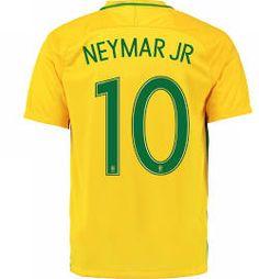 brazil home 10 neymar jr 2016 men soccer football jerseys size s ..