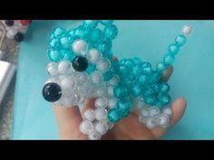 Kết Cườm - Hướng dẫn kết cườm chú chó Goofy (đơn giản) - YouTube Diy And Crafts, Arts And Crafts, Beaded Crafts, Beaded Animals, Beads And Wire, Beading Tutorials, Christmas Crafts, Creations, Beaded Bracelets