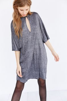 8a96882953739b Silence + Noise Glittery T-Shirt Dress