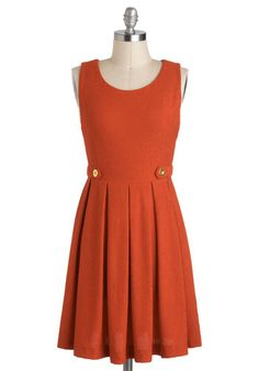 Show You Carrot Dress, #ModCloth