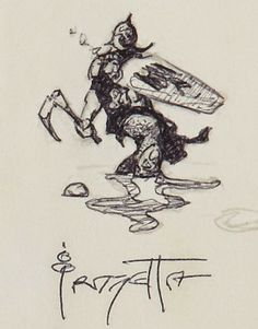 Cap'n's Comics: Death Dealer by Frank Frazetta