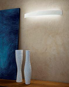 """Curvé"" #LED #wall #lamp #design #modern #light #Besanza https://www.lampadaribesanza.com/en/curve-applique-led.html"