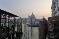 La lagune à la tombée du soir - Venise (Italie)