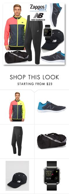 """""""Run the World in New Balance"""" by eileenelizabeth ❤ liked on Polyvore featuring New Balance, Under Armour, Fitbit, men's fashion, menswear, NewBalance and polyvoreeditorial"""