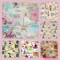 Telas con imágenes de París