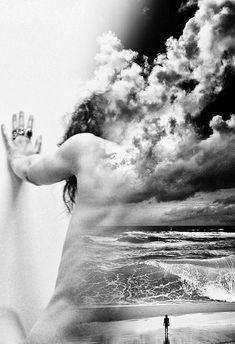 Antonio Mora #digital #double #exposure #art