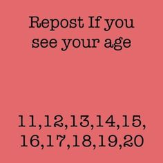 15 you? XD