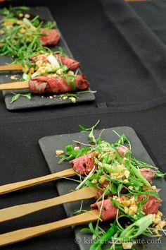 Wagyu beef at Pebble Beach Wine & Food @Liren Baker | Kitchen Confidante