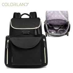 Colorland Sleipnir Dimensional Large Nappy Bags Diaper Backpack Tote Baby Bag For Mother bag Maternity Backpack Baby organizer