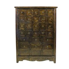 This 29 Drawer Chest has a great imperial chinese look, and I want it. /via FAB.com