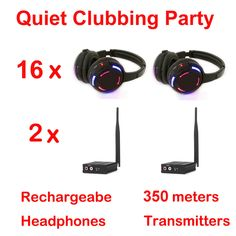 Silent Disco compete system black led wireless headphones - Quiet Clubbing Party Bundle (16 Headphones + 2 Transmitters)     Tag a friend who would love this!     FREE Shipping Worldwide   http://olx.webdesgincompany.com/    Get it here ---> http://webdesgincompany.com/products/silent-disco-compete-system-black-led-wireless-headphones-quiet-clubbing-party-bundle-16-headphones-2-transmitters-2/