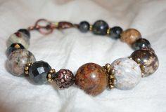 Gemstone Bracelet - Pietersite -