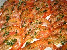 Insal finoc salmon e melogra Easy Delicious Recipes, Clean Recipes, Fish Recipes, Seafood Recipes, Cooking Recipes, Fish And Meat, Fish And Seafood, My Favorite Food, Favorite Recipes