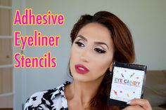 New Video just went up live on my YT channel ! Link in the bio. I will be reviewing and trying on these amazing Adhesive Eyeliner Stencils. Hold you guys enjoy watching it. Please don't forget to subscribe and  the video  #glambyirina #YouTube #youtubevideo #makeupartist #productreview #bethbenderbeauty #eyeliner#eyelinerstencil