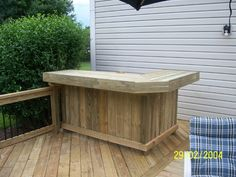 Cedar Decks, Wood Decks, Gazebos, Screen Porches, Sun Rooms, Tiki Bars, Docks, Pressure Treated, Cedar, Composite, Indianapolis - Outdoor Bar & Counters