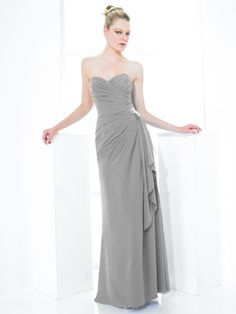 Bridesmaids Style ~ in platinum Made Of Honor, Different Colors, One Shoulder Wedding Dress, Wedding Planner, Bridesmaids, Wedding Ideas, Skinny, Wedding Dresses, Pretty