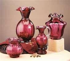 Beautiful Cranberry Fenton Art Glass!