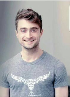 Daniel Radcliffe - he still has that same smile since hp..